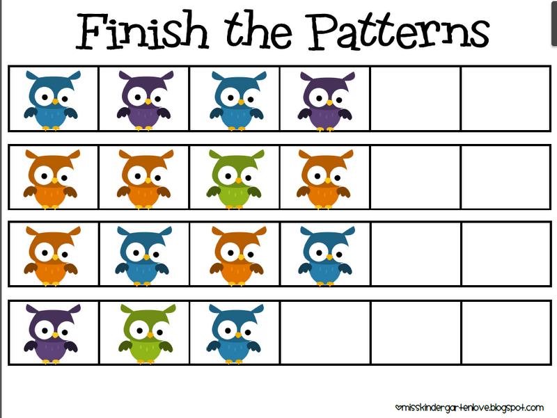 Math Pattern Clipart.