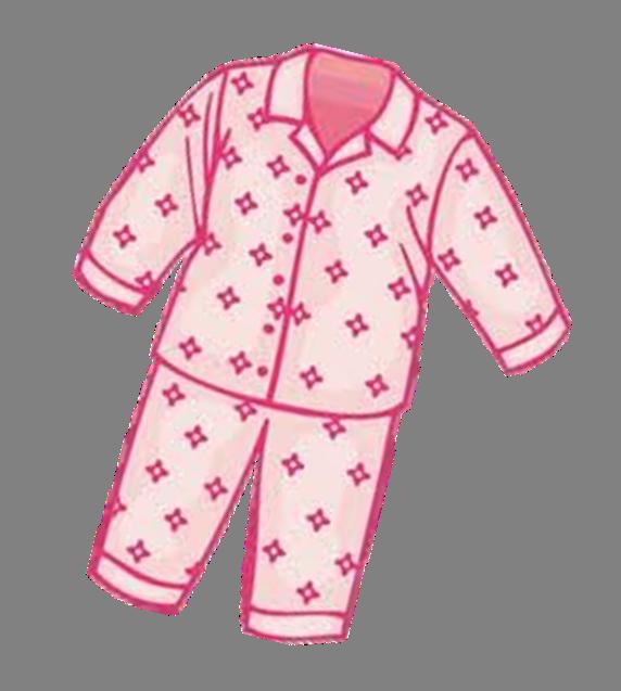 Best Pajama Clip Art #2500.