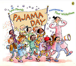 Pajama Day at School Clipart.