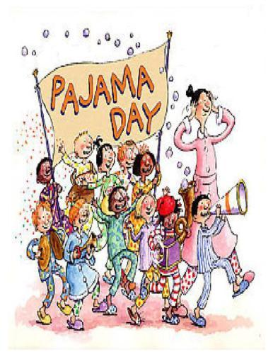 7+ Pajama Day Clip Art.