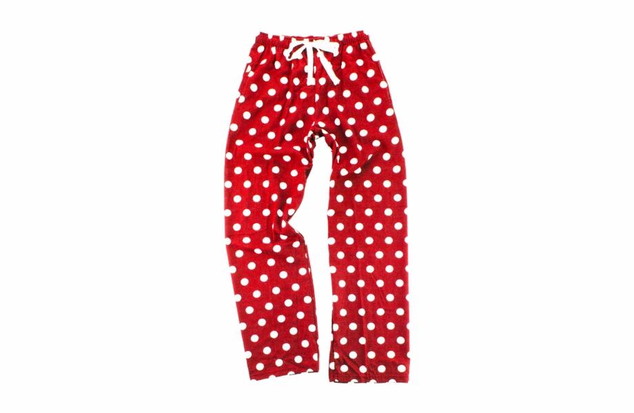Black Polka Dot Pajama Pants Free PNG Images & Clipart.