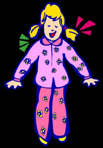 Best Pajama Clip Art #2494.