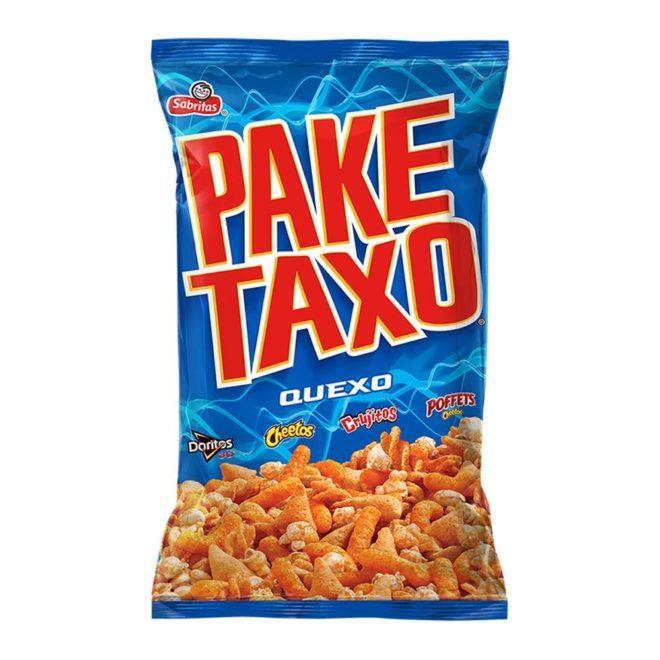 Botana surtida Paketaxo sabor quexo 215 g.