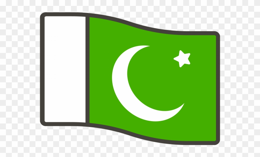 Pakistan Flag Emoji.