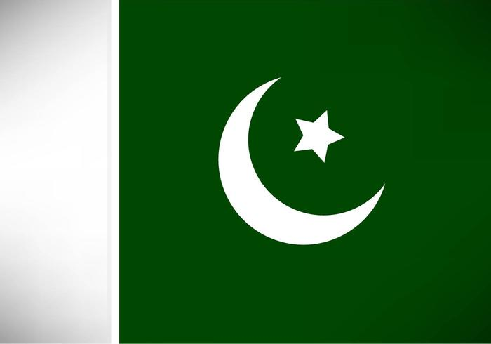 Free Vector Pakistan Flag.
