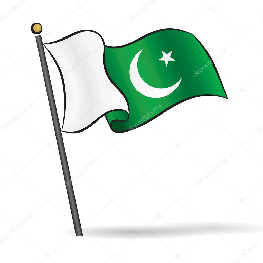 Flag Of Pakistan Clipart.