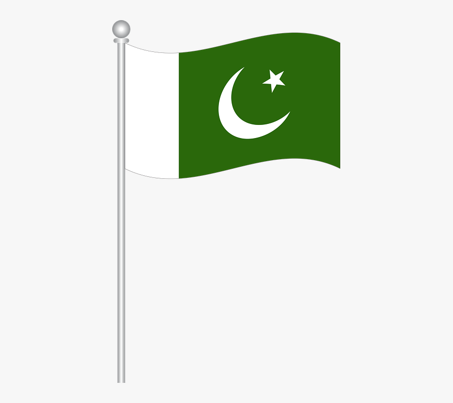 Flag Of Pakistan Png , Free Transparent Clipart.
