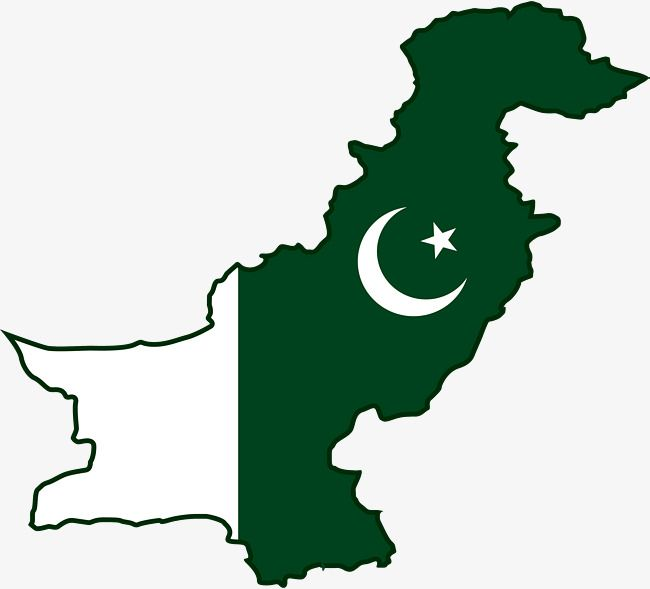 Pakistan Map, Vector Png, Pakistan PNG and Vector with.