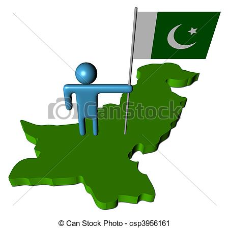 Pakistani flag Illustrations and Clipart. 824 Pakistani flag.