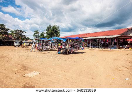 Pakse Laos Stock Photos, Royalty.