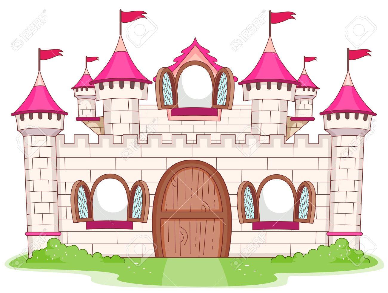Palace clipart cartoon.