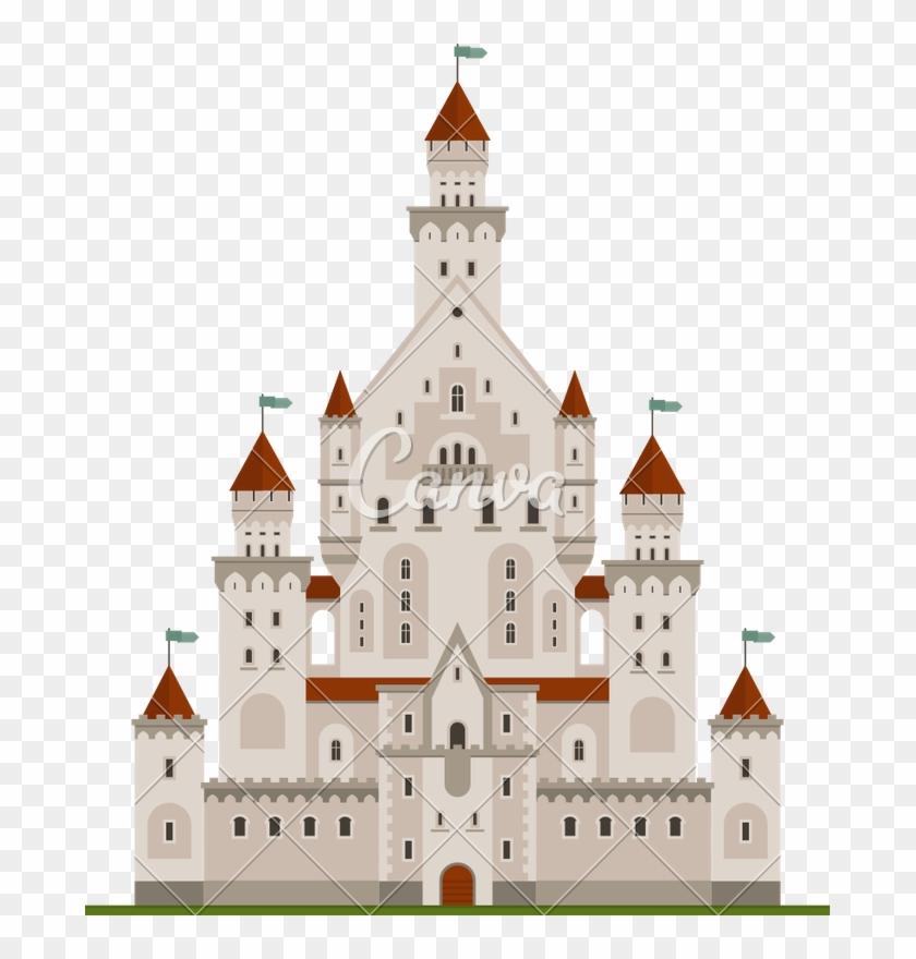 Palace Clipart Fairy Tale Castle.