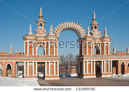 Free Ancient palace in Tsaritsyno park Photos.