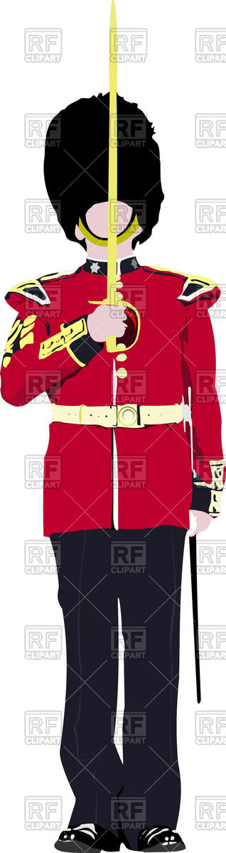 Buckingham palace guard.
