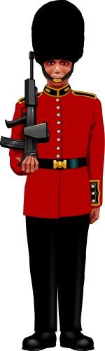 Palace Guard London; Tradition.