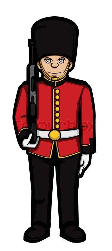 Queen of England Guards.