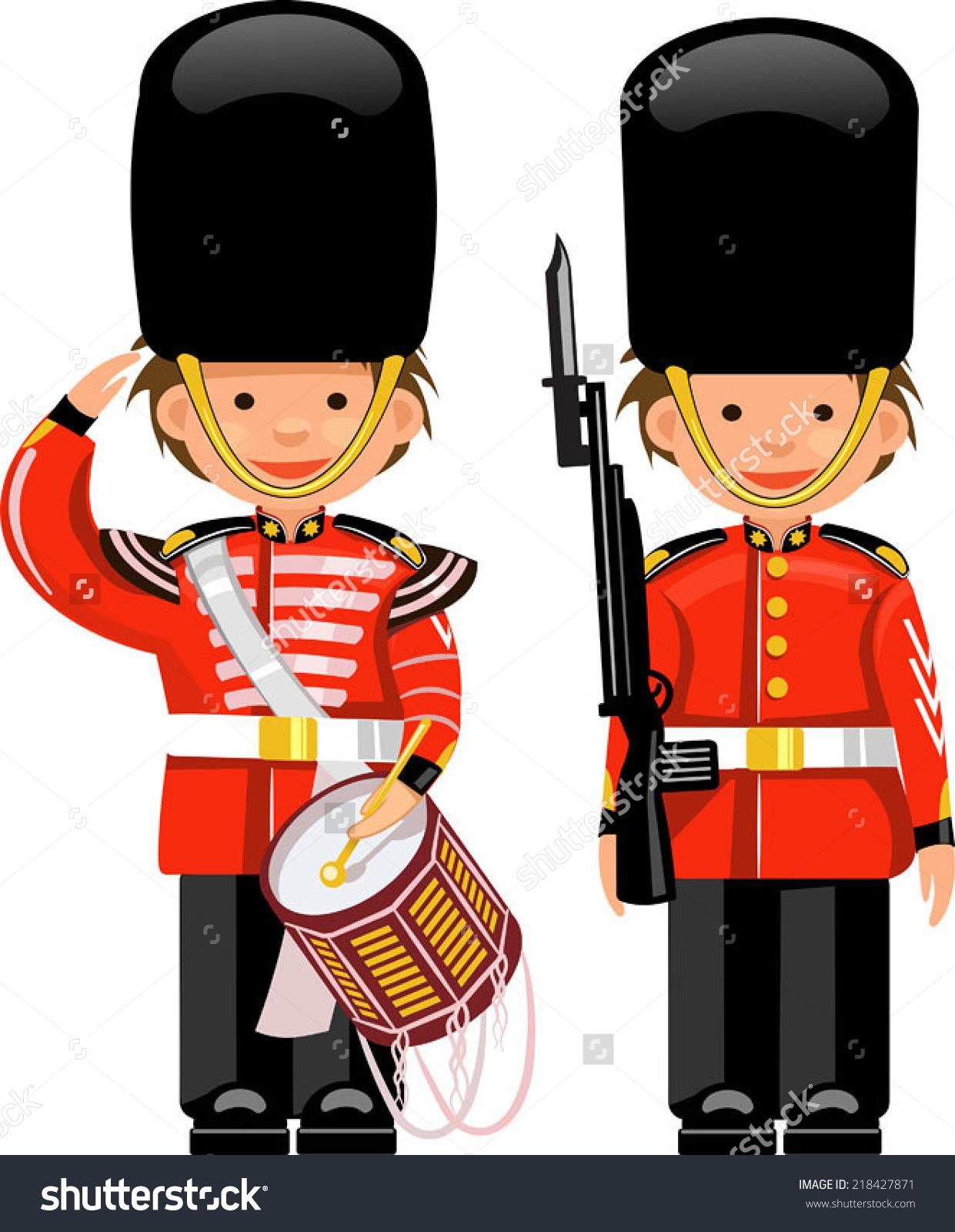 Buckingham Palace Guard Stock Illustrations & Cartoons.