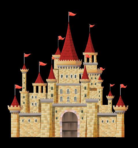 Palace clipart red castle, Palace red castle Transparent.