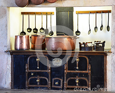 Kitchen Sintra National Palace Portugal Stock Photos, Images.