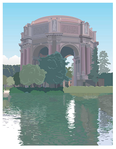 Palace Of Fine Arts Clip Art, Vector Images & Illustrations.