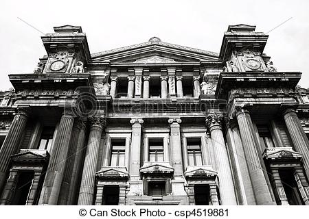 Stock Photography of Palace of Justice, Brussels.