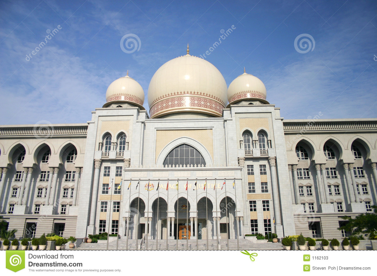 The Palace Of Justice, Malaysia Editorial Photo.