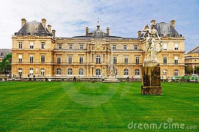 Palais De Luxembourg, Paris Editorial Image.