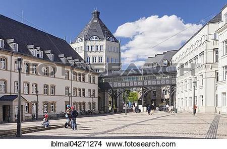 Stock Photo of Palace of Justice, Plateau du Saint Esprit.