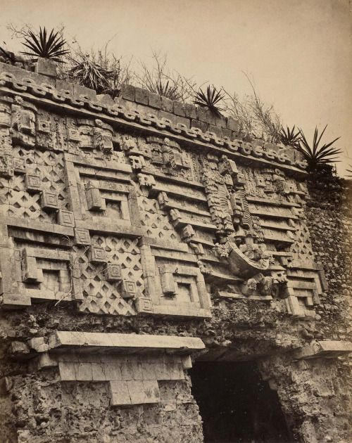 Palace of the Governor at the ancient Mayan city of Uxmal, Mexico.