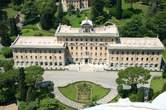 Palace Of The Governor Of Vatican City Royalty Free Stock Photo.