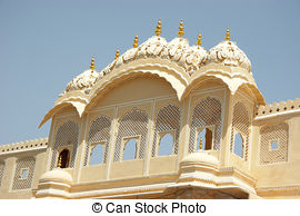 Stock Photo of Palace of Winds in Jaipur, India.