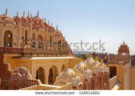 India Palace Stock Photos, Royalty.