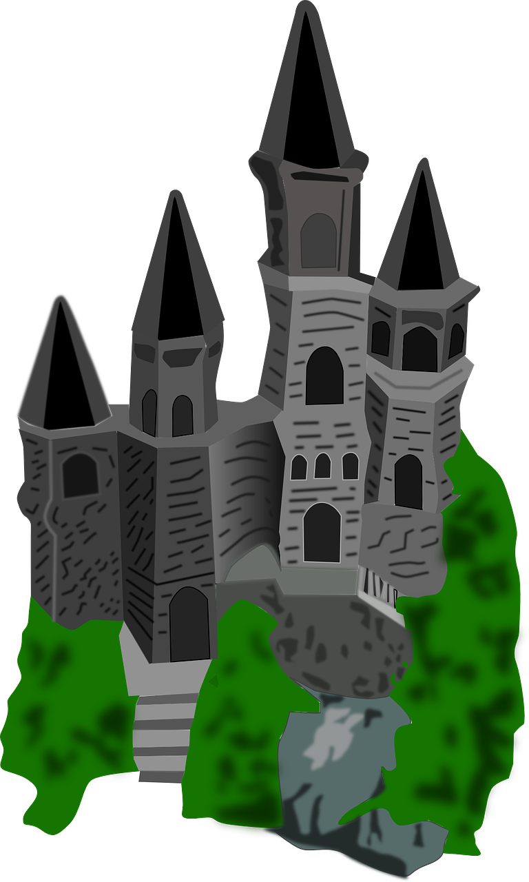 Castle Drawing Cartoon Palace PNG.