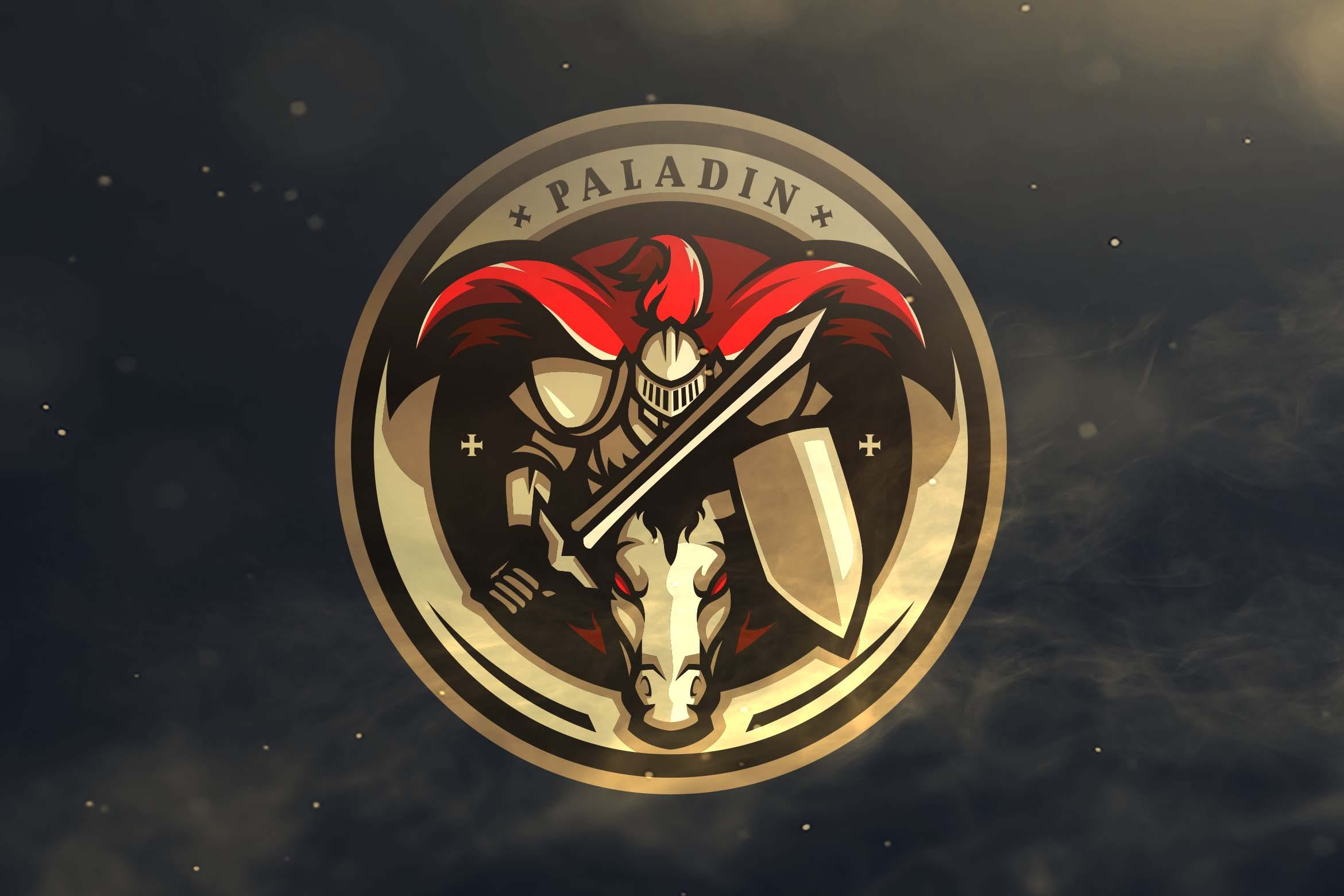Paladin Sport and Esports Logos by ovozdigital on Envato Elements.