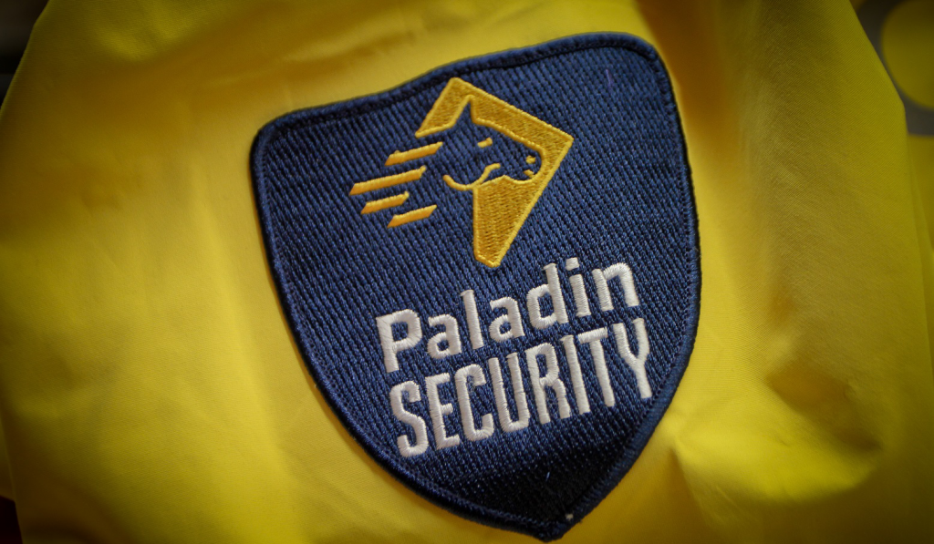 The Paladin Difference at Work: Security Officer Calmly Deals.