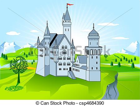 Stock Illustration of royal palace csp4684390.