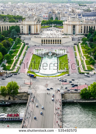 Palais De Chaillot Stock Photos, Royalty.