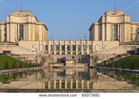 Palais De Chaillot Stock Photos, Royalty.
