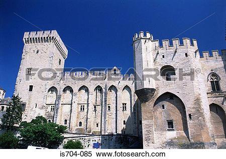 Stock Image of Palais des Papes, Avignon is704.