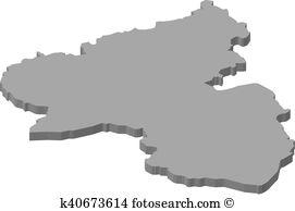 Map rhineland palatinate Clip Art Illustrations. 259 map rhineland.