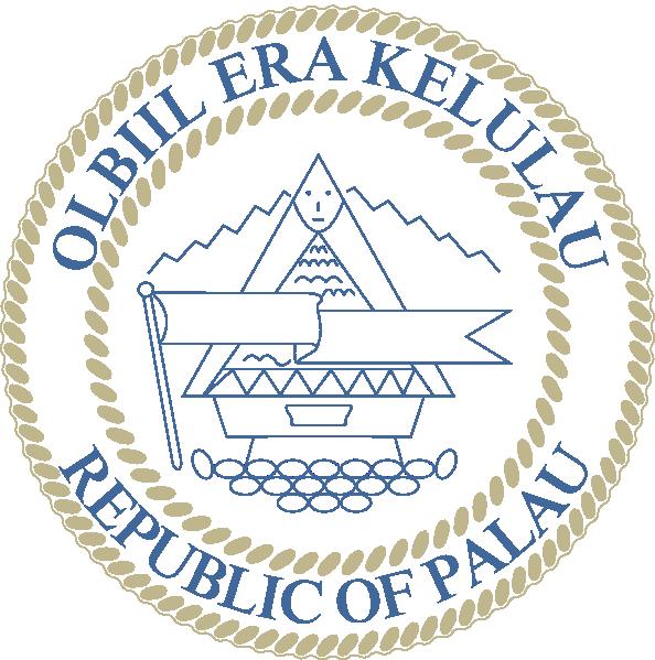 Coat Of Arms Of Palau clip art Free Vector / 4Vector.