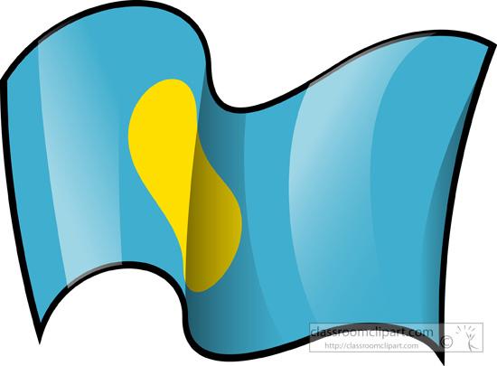 World Flags : Palau.