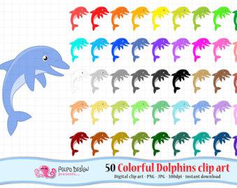 rainbow dolphins.