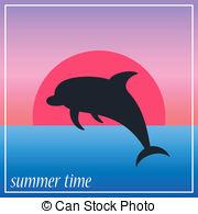 Retro dolphin Vector Clip Art EPS Images. 397 Retro dolphin.