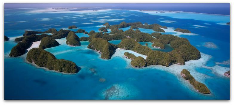 Palau Island Home.