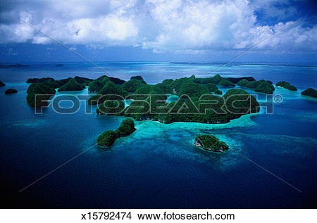 Stock Photo of Palau Islands x15792474.