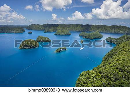 """Stock Photo of """"The Ark, island paradise Palau, Micronesia."""