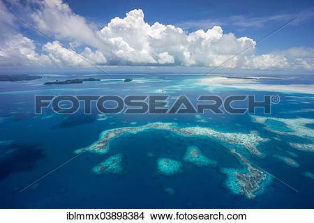 "Stock Photo of ""Rock Islands, Palau island paradise, Micronesia."