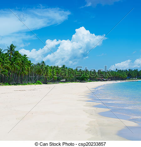 Stock Images of Tropical beach, El Nido, Palawan.