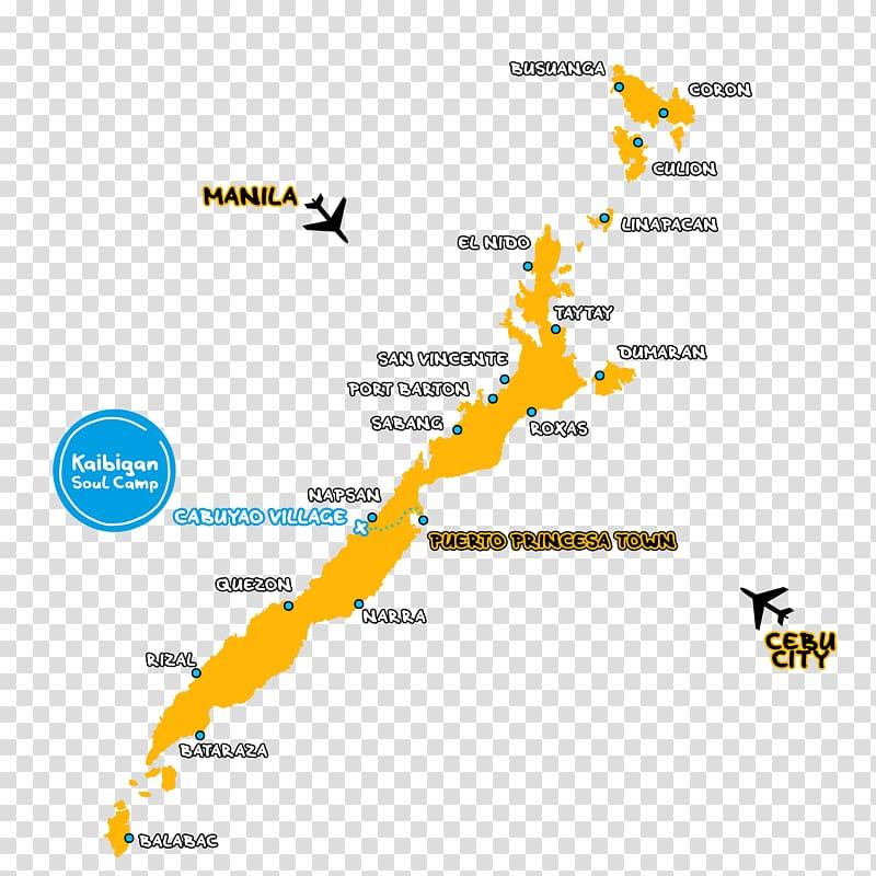 Kaibigan Soul Camp Palawan El Nido Coron Roxas Map, map.